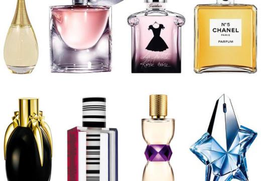 Les meilleurs parfums pour femme 2013-2014