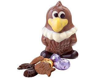 Le chocolat, le plaisir de Pâques