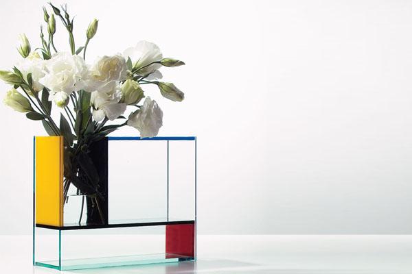 Cr maill re quels cadeaux offrir listes et for Mondrian vase