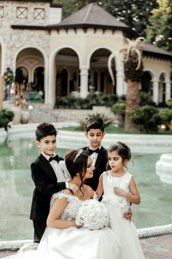 Mariée avec enfants